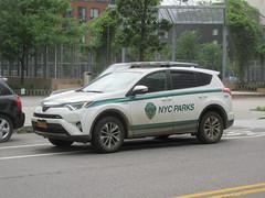 NYC Parks Toyota RAV4