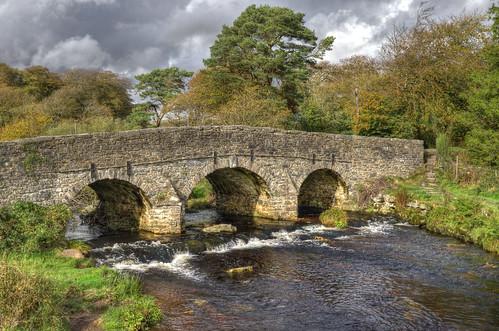 18th century bridge at Postbridge, Dartmoor