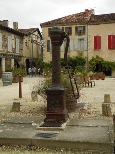 Labastide d'Armagnac, Landes (France, Frankreich, Франция): la Place Royale