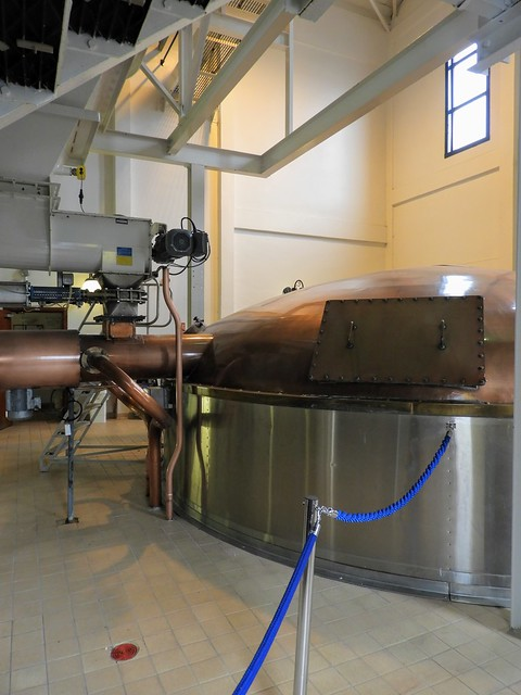 Mash Tun at Talisker Distillery
