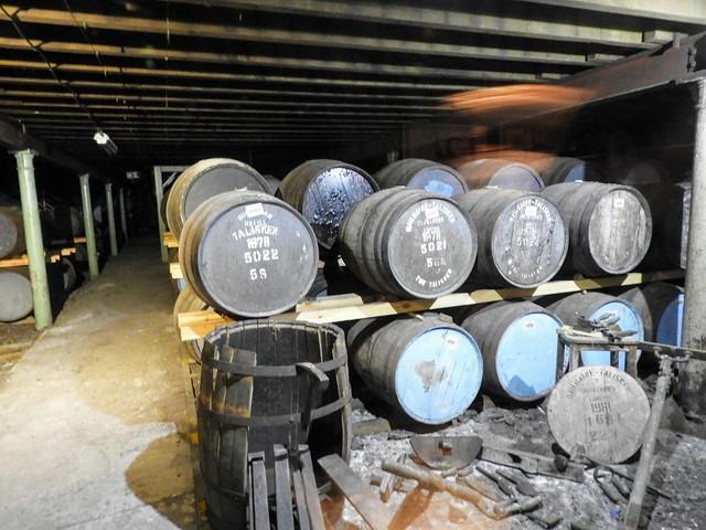 Talisker Distillery Warehouse