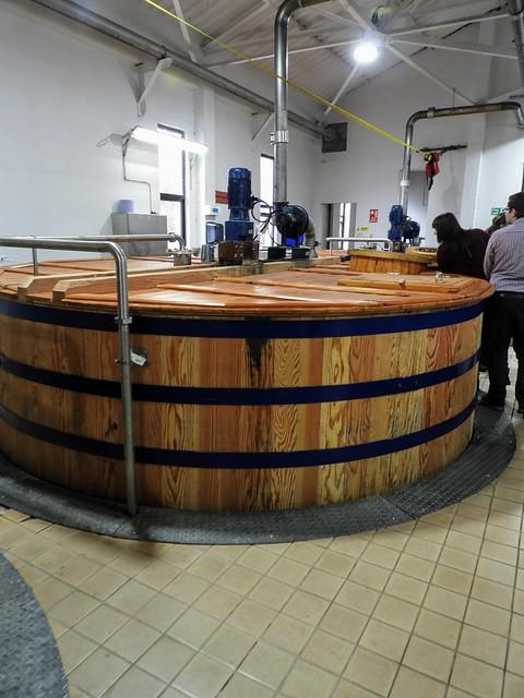 Washbacks at Talisker Distillery