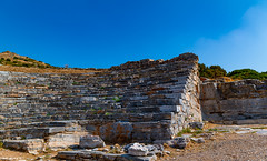 The Thearter of Ancient Thorikos (To many people About to get a Full picture without Bodys in it)