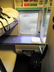 My Compartment on the Caledonian Sleeper