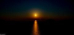 Sunset started @ Temple of Poseidon