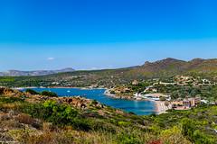 Popular Resort/Beach south of Lavrio.