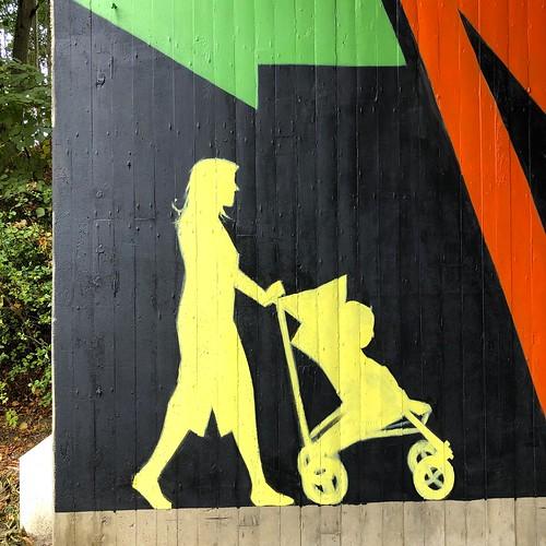 Streetart under the bridge @ Oude Baan Leuven