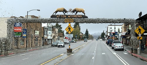 Worlds Largest Antler Arch - Afton WY