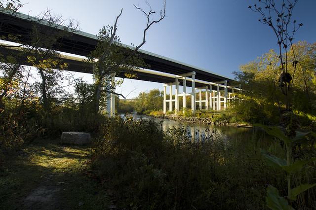 Bridges over the Cuyahoga River