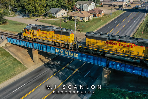 UP 1160 | EMD GP60 | UP Memphis Subdivision