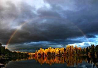 Sunset, Beaver Lake, Sammamish, WA 10/20/19