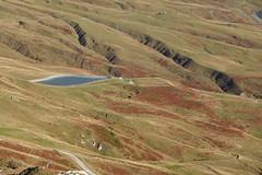 Artificial lake @ Hike around Tête de la Cicle
