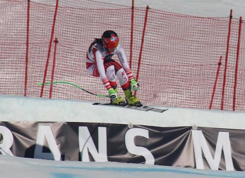 Ricarda Haaser (AUT). Ski World Cup, Crans Montana, 23/02/2019