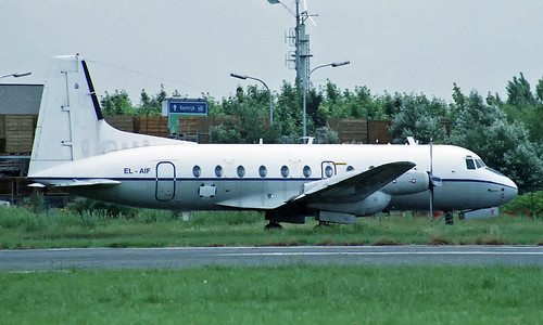 Hawker-Siddeley 748-2A/206 EL-AIF