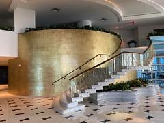 Stairway to Nowhere Fontainebleau Hotel Miami Beach
