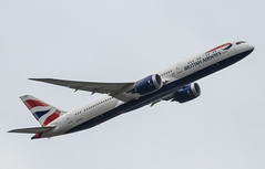 EGLL - Boeing 787-9 Dreamliner - British Airways - G-ZBJS