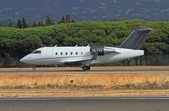 5N-EXS Canadair CL600 Challenger Faro 13-10-19