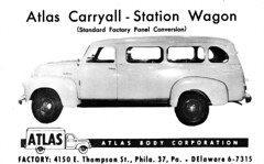 1948 Chevrolet Carryall Station Wagon