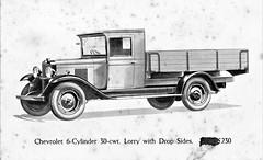 1930 Chevrolet 6-Cylinder 30 cwt Lorry (U.K.)