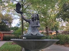 Ambika Paul statue