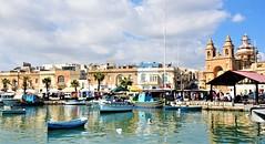 Marsaxlokk - Ilha de Malta