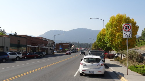 Downtown Thompson Falls, MT