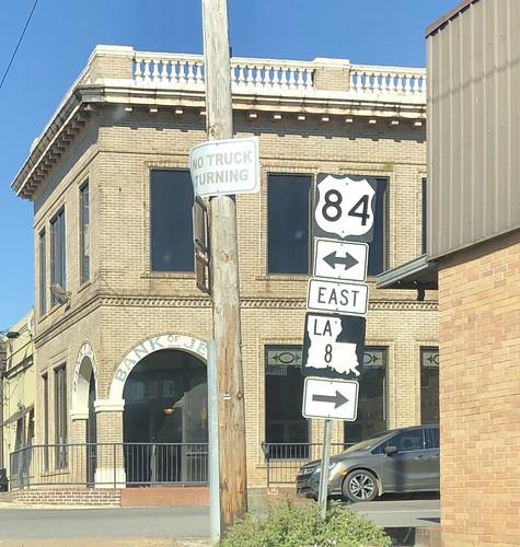 US 84 and Louisiana 8