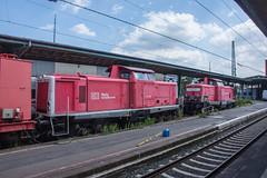Hilfzug at rest - Kassel Hbf