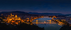 Nightscape of Budapest