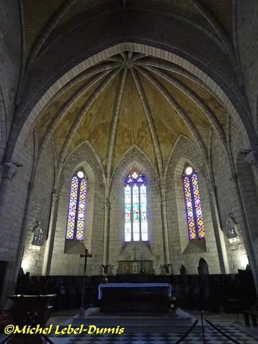 Église Saint Dominique de Monpanzier - Le Maître Autel et le Chœur