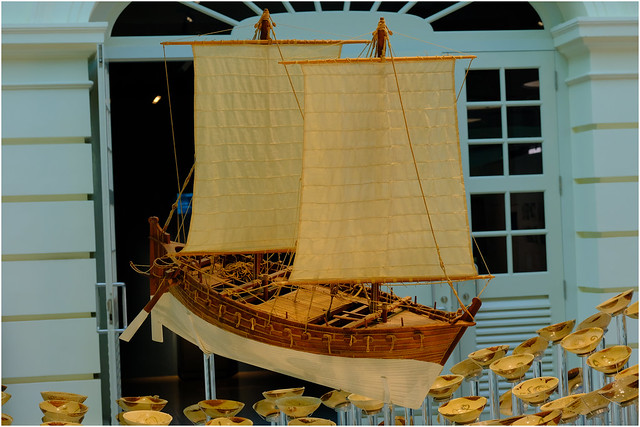 Photo:Asian Civilisations Museum, Singapore.04. Part of Tang shipwreck collection (circa. 900CE).09 By Geoff Whalan