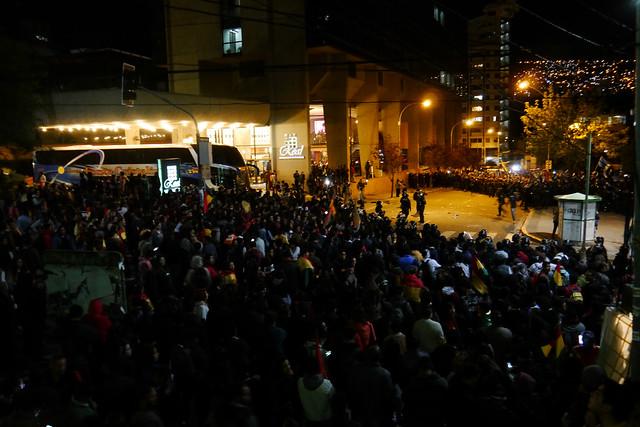 Oposição alimenta tensões na Bolívia em relação ao processo eleitoral