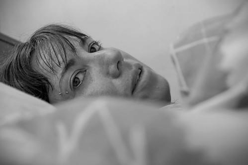 Between sheets