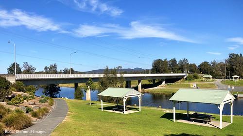 Myall River Bridge at Bulahdelah, Mid North Coast, NSW