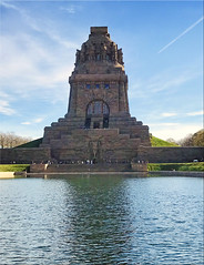 Leipzig/Germany - Völkerschlachtdenkmal (Monument to the Battle of the Nations)