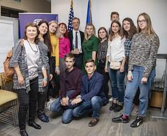 English Access Microscholarship program is celebrating its 10th year in Ukraine, Oct 18, 2019