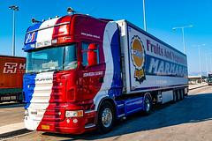Trucks @ Patras South Port .