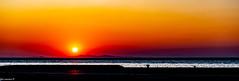 Sunset South Port Quayside Patras .