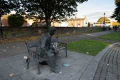 BRENDAN BEHAN MEMORIAL BY JOHN COLL [PHOTOGRAPHED AT BINNS BRIDGE]-1574515