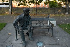 BRENDAN BEHAN MEMORIAL BY JOHN COLL [PHOTOGRAPHED AT BINNS BRIDGE]-1574514