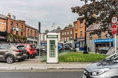 USING OLD PHONE KIOSKS AS DEFIBRILLATOR STATIONS - A VERY GOOD IDEA [AT STONEYBATTER GREEN IN DUBLIN]--1574517
