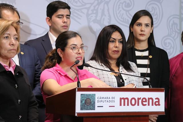 22/10/2019 Conferencia De Prensa Dio. Xóchitl Más huella Zagal Ramírez