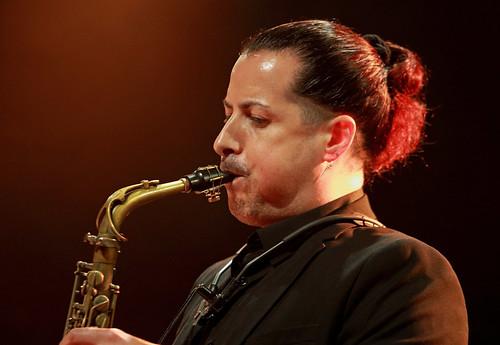 Plume (as) Sarah MacKenzie Septet, Gouvy Jazz Festival, 03/08/2019, Sterpigny-Gouvy, Belgium
