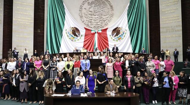 22/10/2019 Sesión Solemne 66 Años De El Voto De La Mujer