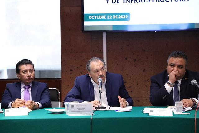 22/10/2019 Comisiones Unidas De Comunicaciones Y Transportes E Infraestructura