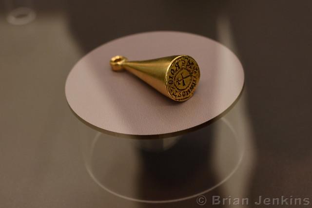 Gold Signet of Knez Stojimir