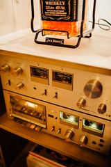 Vintage hifi pioneer audo amp