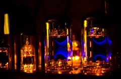 Electronic Vacuum tube in a hi end homemade amplifier