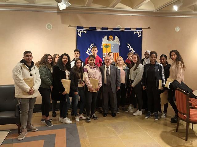 Visita del Colegio San Vicente de Paul