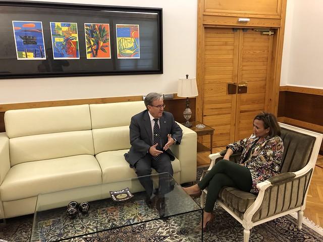 Reunión con la Consejera de Presidencia